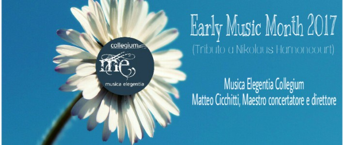 Early Music Month 2017