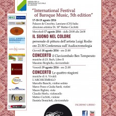 Internation Festival of Baroque Music, 5th Edition